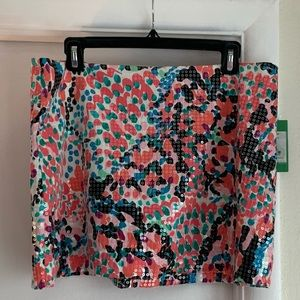 Lilly Pulitzer Tate Skirt in Sweet Nothings